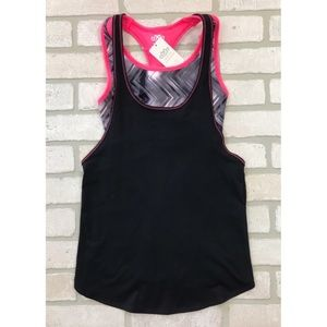 NWT Maurices In Motion Tank Top With Sports Bra